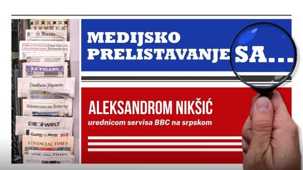 Medijsko prelistavanje sa Aleksandrom Nikšić 1