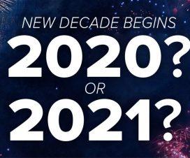 Početak nove decenije - učimo da brojimo & računamo vreme 1