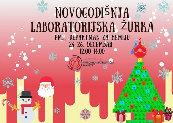 Održana Novogodišnja laboratorijska žurka na PMF-u 1