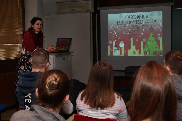 Održana Novogodišnja laboratorijska žurka na PMF-u 4