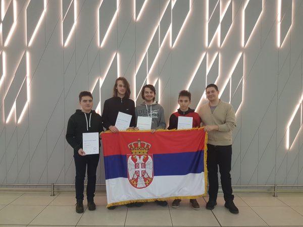 Uspeh mladih matematičara Niša i Beograda 1