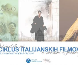 Italijanski filmovi pod zvezdama, 26 - 28. jun 3