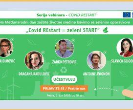 """Vebinar """"COVID REstart = Zeleni start"""" 2"""