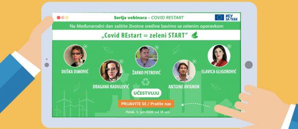 """Vebinar """"COVID REstart = Zeleni start"""" 1"""