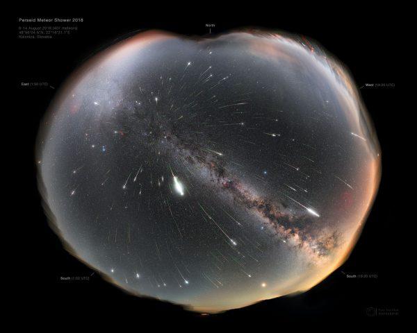 """Meteorska """"kiša"""" - Perseidi 2020 (Stižu zvezde """"padalice"""") 1"""