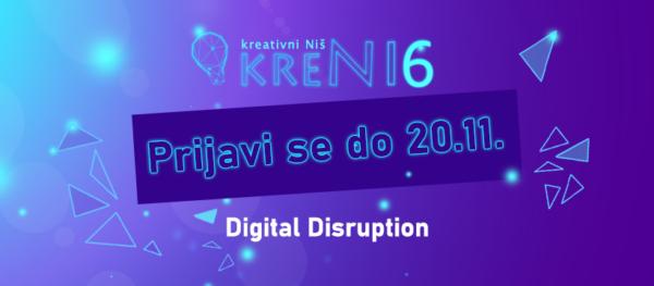 Otvorena prijava za učesnike KreNI6 konferencije kreativnih industrija 1