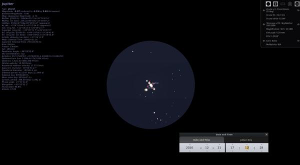 Velika konjunkcija Jupitera i Saturna 6