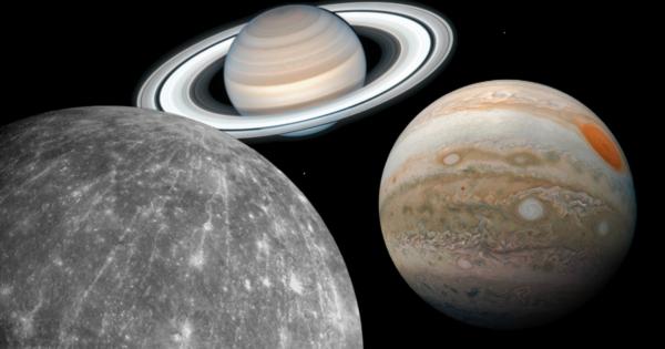 Konjunkcija tri planete 1