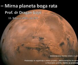 """Predavanje: """"Mars – Mirna planeta boga rata"""" 5"""