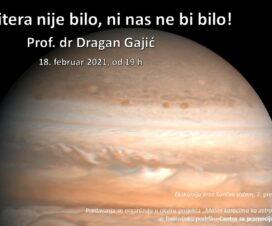 """Predavanje """"Da Jupitera nije bilo, ni nas ne bi bilo!"""" 1"""