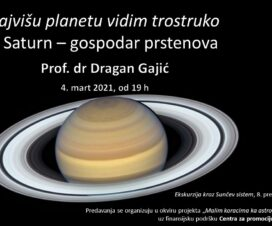"Predavanje ""Saturn - gospodar prstenova"" 1"