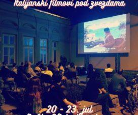Italijanski filmovi u bašti Oficirskog doma 2