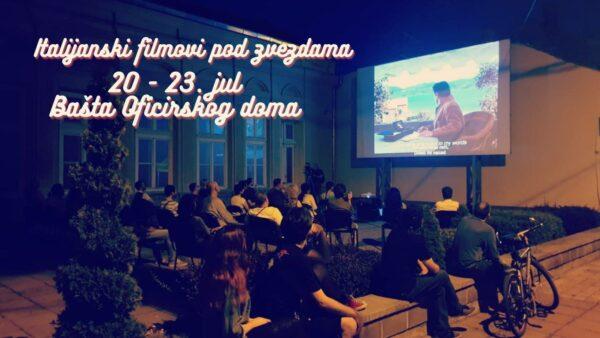Italijanski filmovi u bašti Oficirskog doma 1